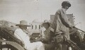 Winston Churchill; Violet Pearman, by Lady Evelyn Hilda Stuart Moyne (née Erskine) - NPG Ax183154