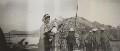 Probably Josephine ('Posy') Lee Guinness (née Strangman); Clementine Ogilvy Spencer-Churchill (née Hozier), Baroness Spencer-Churchill, by Lady Evelyn Hilda Stuart Moyne (née Erskine) - NPG Ax183186