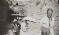 Winston Churchill; Clementine Ogilvy Spencer-Churchill (née Hozier), Baroness Spencer-Churchill; Walter Edward Guinness, 1st Baron Moyne of Bury St Edmunds, by Lady Evelyn Hilda Stuart Moyne (née Erskine) - NPG Ax183192