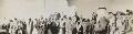 Frederick Gerard Peake with tribesmen, by Lady Evelyn Hilda Stuart Moyne (née Erskine) - NPG Ax183264