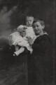 Louis Mountbatten, Earl Mountbatten of Burma; George Louis Victor Henry Sergius Mountbatten, 2nd Marquess of Milford Haven, by Lafayette (Lafayette Ltd) - NPG Ax26450