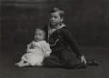 Louis Mountbatten, Earl Mountbatten of Burma; George Louis Victor Henry Sergius Mountbatten, 2nd Marquess of Milford Haven, by Lafayette (Lafayette Ltd) - NPG Ax29365