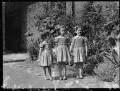 Hon. Brigid Gabriel Menuhin (née Forbes-Sempill); Hon. Janet Cecilia Forbes-Sempill; Hon. Kirstine Elizabeth de Daranyi (née Forbes-Sempill), by Navana Vandyk - NPG x98005