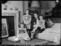 Hon. Janet Cecilia Forbes-Sempill; Hon. Kirstine Elizabeth de Daranyi (née Forbes-Sempill); Cecilia Alice (née Dunbar-Kilburn), Lady Forbes-Sempill; Hon. Brigid Gabriel Menuhin (née Forbes-Sempill), by Navana Vandyk - NPG x98007