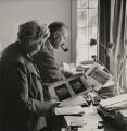 Agatha Christie; Sir Max Mallowan, by Unknown photographer - NPG x199290