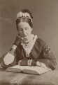 Angela Burdett-Coutts, Baroness Burdett-Coutts, by Francis Henry Hart, for  Elliott & Fry - NPG x196480