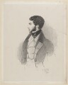 George Stevens Byng, 2nd Earl of Strafford, by Richard James Lane, published by  John Mitchell, after  Alfred, Count D'Orsay - NPG D46218