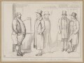 A Coachman Wanted - Candidates for the Place, by John ('HB') Doyle, printed by  Alfred Ducôte, published by  Thomas McLean - NPG D46346