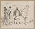 The Derby Favorite, a Little Amiss!, by John ('HB') Doyle, printed by  Alfred Ducôte, published by  Thomas McLean - NPG D46359