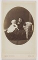 Prince Albert Victor, Duke of Clarence and Avondale; Queen Victoria, by (Cornelius) Jabez Hughes - NPG x196307