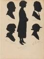 Sheila Charlton (née Ross); Theophilus Charlton; Dorothy Albert; W. E. Hobson and an unknown man, by Hubert John Leslie - NPG D46418