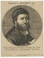 Hans Holbein the Younger, by Wenceslaus Hollar, published by  Frederick de Wit, after  Hans Holbein the Younger - NPG D45759