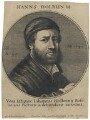 Hans Holbein the Younger, by Wenceslaus Hollar, after  Hans Holbein the Younger - NPG D45760