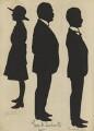 Vistors to St Luke's Church Bazaar, Eltham Park (Sammy; Sir George Herbert Duckworth; Ronald Burton), by Hubert John Leslie - NPG D46612