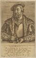 Jan van Amstel, by Johan Wierix, published by  Theodor Galle - NPG D45771