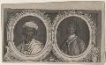 Ayuba Suleiman Diallo (Job ben Solomon); William Ansah Sessarakoo, published by Gentleman's Magazine, after  William Hoare, and after  Gabriel Mathias - NPG D45779
