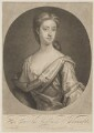 Henrietta Pelham-Holles (née Godolphin), Duchess of Newcastle, by Francis Kyte, published by  John Bowles, after  Sir Godfrey Kneller, Bt - NPG D45782