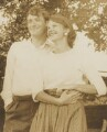 Ted Hughes; Sylvia Plath, by Unknown photographer - NPG P2012