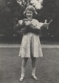 Queen Elizabeth II with her corgi Dookie, by Studio Lisa (Lisa Sheridan) - NPG x199577