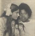 Two unknown children, by Marcus Adams - NPG x199435