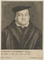 Called Martin Luther; possibly Gaspar Schets, by Wenceslaus Hollar, published by  Johannes Meyssens - NPG D47383