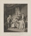William Farren, Charles Farley and Richard Jones in 'The Clandestine Marriage', by Henry Meyer, published by  Hurst, Robinson & Co, after  George Clint - NPG D47390