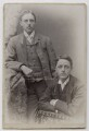 Two unknown men, by Richard Cloud & Eleanor D. Hill - NPG Ax46248