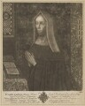 Lady Margaret Beaufort, Countess of Richmond and Derby, by John Faber Sr, after  Unknown artist - NPG D47405