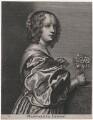 Margaret Lemon, by Adriaen Lommelin, after  Sir Anthony van Dyck - NPG D47400