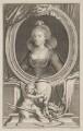 Anne of Denmark, by Jacobus Houbraken, after  Cornelius Johnson (Cornelius Janssen van Ceulen) - NPG D47428