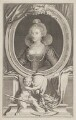 Anne of Denmark, by Jacobus Houbraken, after  Cornelius Johnson (Cornelius Janssen van Ceulen) - NPG D47429