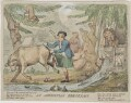 James Bruce ('An Abyssinian Breakfast'), by Isaac Cruikshank, published by  William Holland - NPG D47441