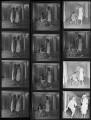 Daphne Maureen ('Bunty') Kinsman (née Graham); Anna Neagle; Caroline Fleur (née Vatcher), Lady Hobart, by Francis Goodman - NPG x195687