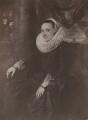 Margareta Snyders (née de Vos), by Robert Howlett, after  Sir Anthony van Dyck - NPG x199776
