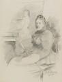 Henrietta Mary Ada Ward, by Walker Hodgson - NPG 7037