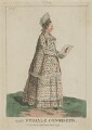 Mary Darly ('The Female Conoiseur'), published by Matthew or Matthias Darly - NPG D47482