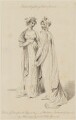'The prevailing Spring Fashions for 1806...the Elegant designs of Madame Lanchester', by James Mitan, after  Arthur William Devis, published by  John Bell, published for  La Belle Assemblée - NPG D47494