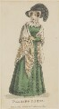 'Walking Dress', March 1825, published by J. Robins & Co, published for  The Ladies' Pocket Magazine - NPG D47554