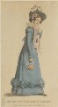 'Morning Visiting Dress', May 1825, published by J. Robins & Co, published for  The Ladies' Pocket Magazine - NPG D47556