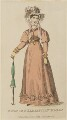'Morning Exhibition Dress', June 1825, published by J. Robins & Co, published for  The Ladies' Pocket Magazine - NPG D47557