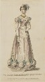 'Public Breakfast Costume', August 1825, published by J. Robins & Co, published for  The Ladies' Pocket Magazine - NPG D47568