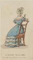 'Evening Costume', October 1825, published by J. Robins & Co, published for  The Ladies' Pocket Magazine - NPG D47570