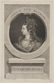 Anne of Denmark engraved as Queen Elizabeth I, by George Vertue, after  Isaac Oliver - NPG D48099