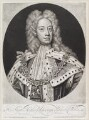 King George II when Prince of Wales, by and published by John Smith, after  Sir Godfrey Kneller, Bt - NPG D11638
