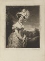 Princess Augusta Sophia, by Samuel William Reynolds, and by  Samuel Cousins, after  Sir William Beechey - NPG D15608