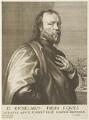 Sir Kenelm Digby, by Robert van Voerst, after  Sir Anthony van Dyck - NPG D19100