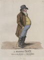 Matthew Day ('A gloomy day, taken on the Steyne at Brighton'), by and published by Robert Dighton - NPG D13303