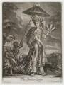 'The Indian Queen' (Anne Bracegirdle), by William Vincent, published by  John Smith - NPG D19498