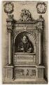Monument to William Aubrey, by Wenceslaus Hollar - NPG D1005