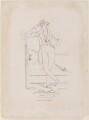 Benjamin Disraeli, Earl of Beaconsfield, by Daniel Maclise, published by  James Fraser - NPG D1032